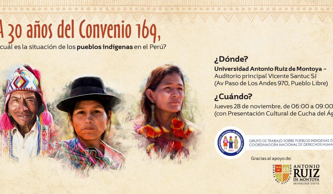 Presentarán informe sobre situación de los derechos de los pueblos indígenas peruanos tras 30 años de la aprobación del Convenio 169 de la OIT