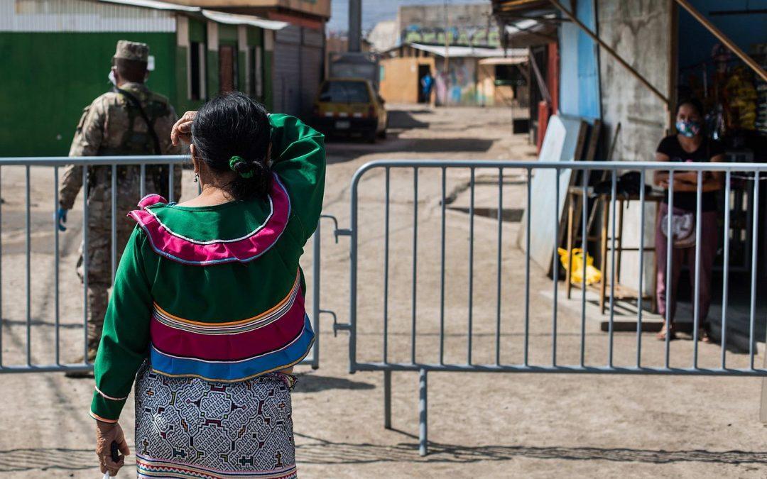 La CIDH alerta sobre la crisis sanitaria en la Comunidad Indígena Urbana de Cantagallo