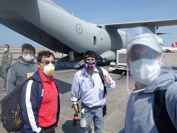 Iglesia de Iquitos informa: Llegó la primera planta de oxígeno y otros insumos médicos