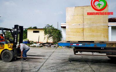 Iquitos: Llega una segunda planta de oxígeno con la coordinación del Vicariato