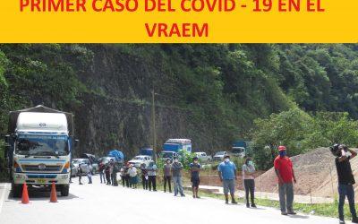 VRAEM: Primer caso de COVID-19 confirmado por DIRESA-Ayacucho