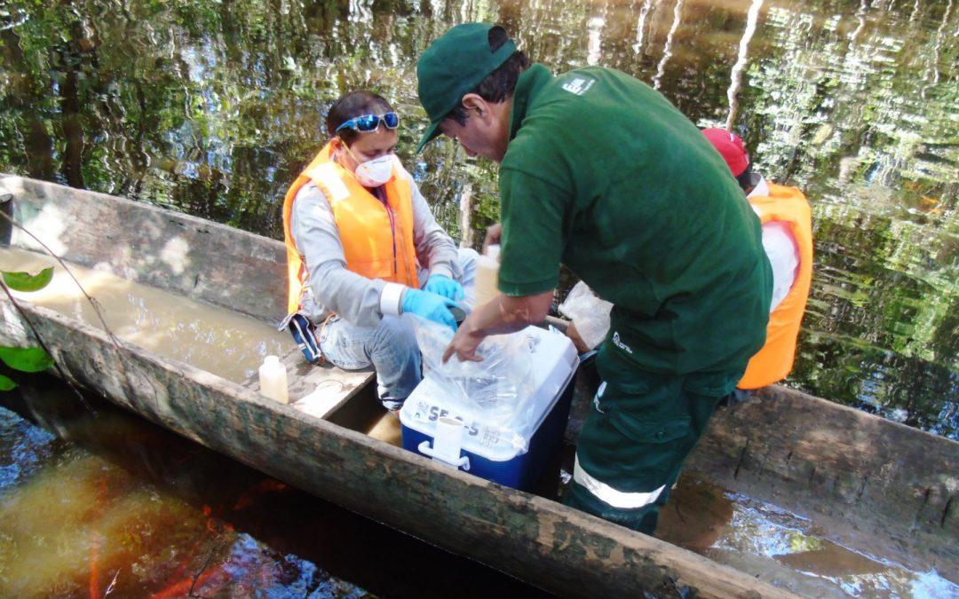 ANA realiza monitoreo de calidad del agua en río Morona, en Loreto