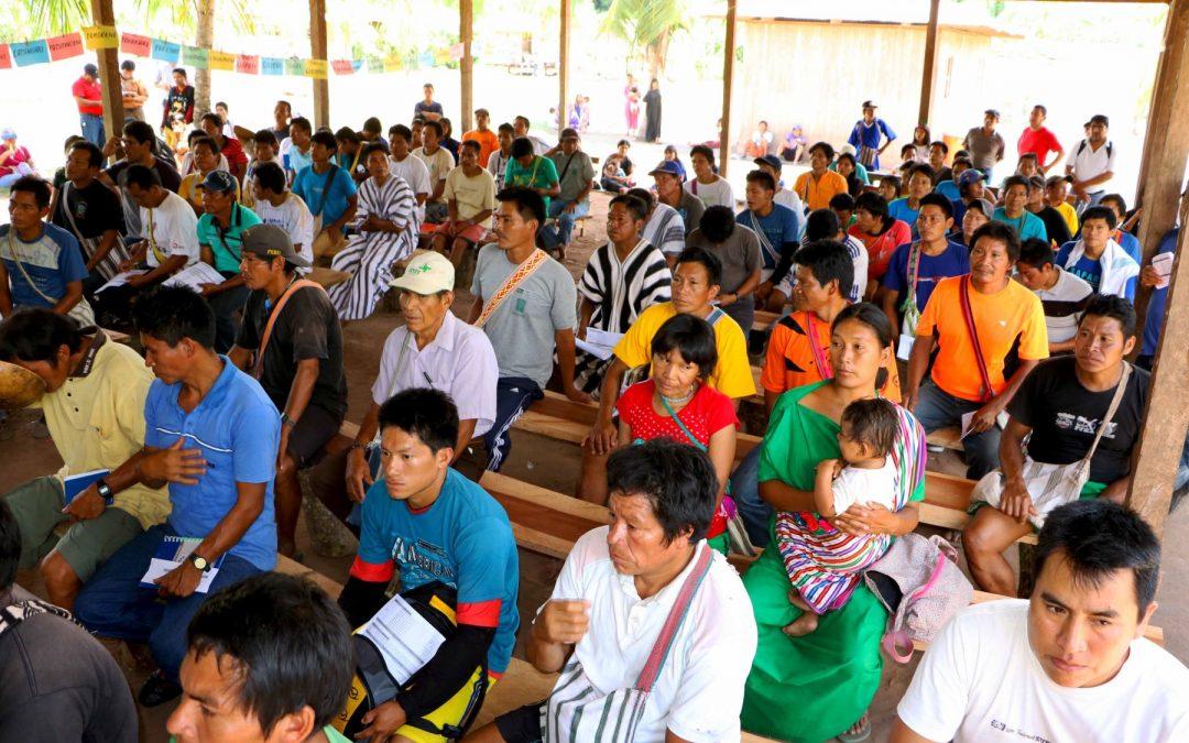 Autoridades y líderes indígenas del Vraem se capacitan en consulta previa