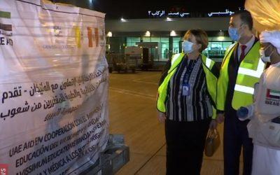 Loreto: Emiratos Árabes envía 50 toneladas de ayuda a Iquitos gracias a colaboración con el Vaticano