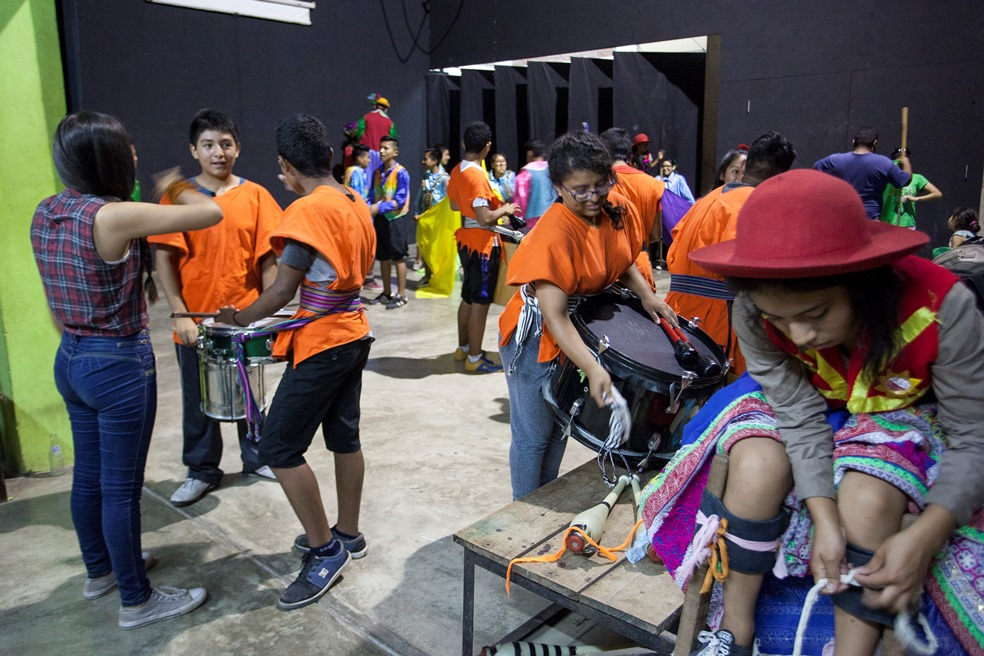 Juventud y el arte que el mundo necesita presentes en la Amazonía