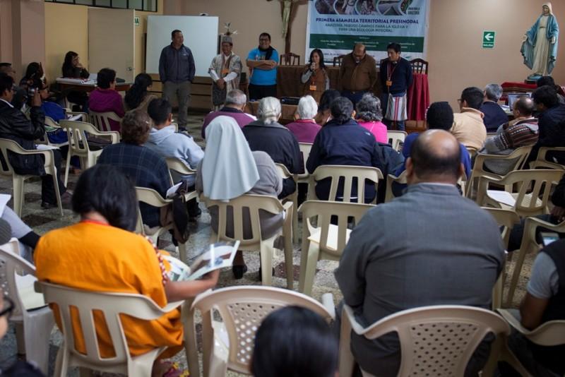 Empieza en Perú la primera asamblea territorial camino al Sínodo Panamazónico