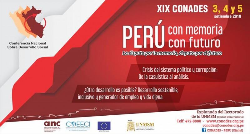 XIX CONADES se inicia este lunes 3 de setiembre en Lima