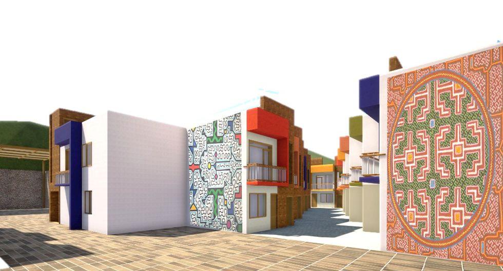 Cantagallo: así será el nuevo conjunto habitacional de la comunidad Shipibo-Konibo