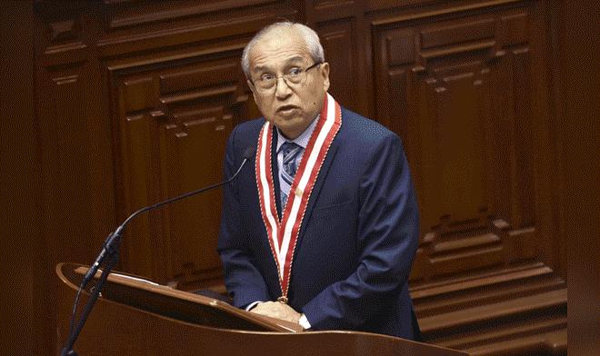 Colegio de Abogados decide hoy si suspende o no al fiscal de la Nación