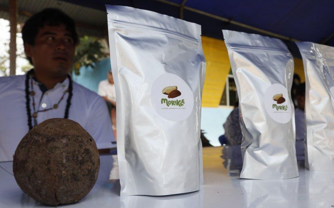 Comunidad nativa Tres Islas, en Madre de Dios, exportará castaña con la marca «Morikke»
