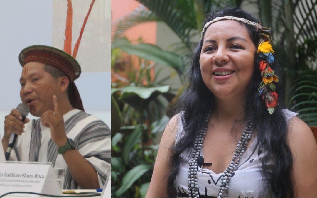 Yésica y Delio. ¿Quiénes son los indígenas peruanos que participarán en el Sínodo de la Amazonía?