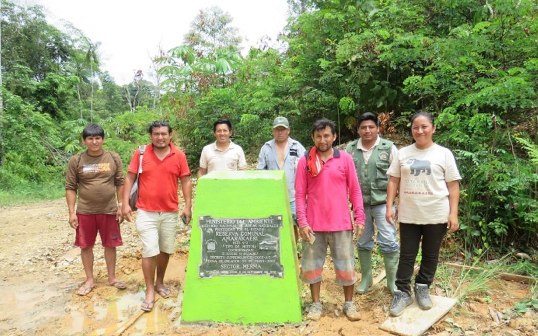 Inician demarcación física de área de la Reserva Comunal Amarakaeri