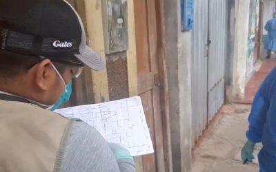 Iquitos: DIRESA-Loreto inicia búsqueda de casos positivos casa por casa en las zonas de mayor incidencia de COVID-19