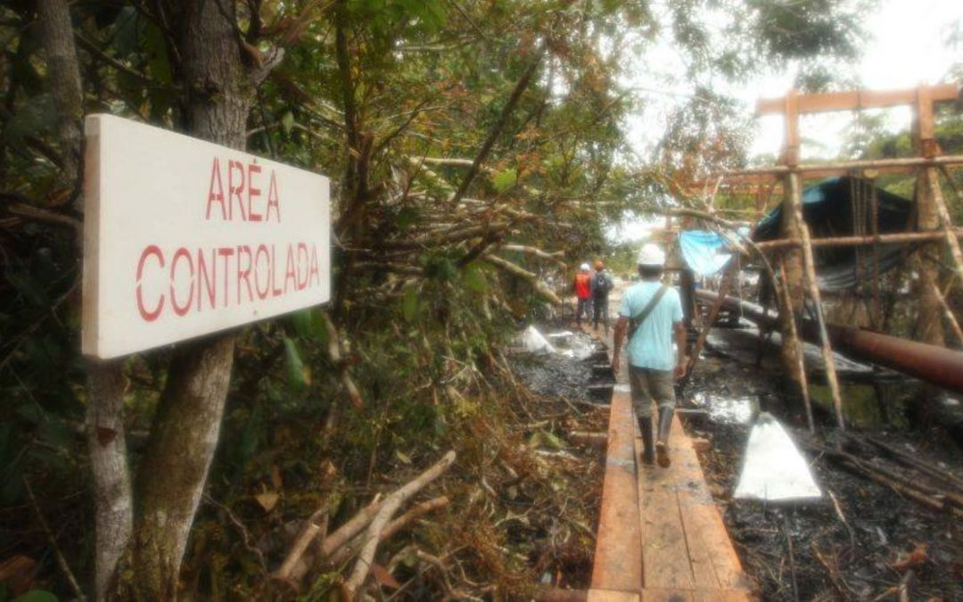 MIMP supervisa atención prioritaria a niños de Chiriaco tras derrame de petróleo