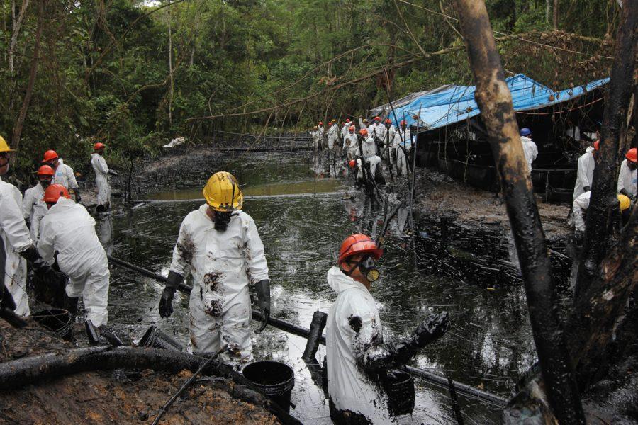 Amazonas: Admiten demanda de amparo de comunidades afectadas por derrame de Petroperú