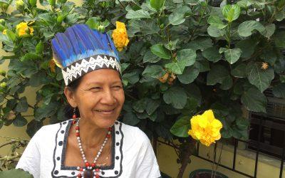 """Zoila Ochoa: """"Si me dicen 'huitota' o 'nativa' para mí es como escuchar un 'buenos días'. Jamás permito que las ofensas sobre mi origen me afecten"""""""