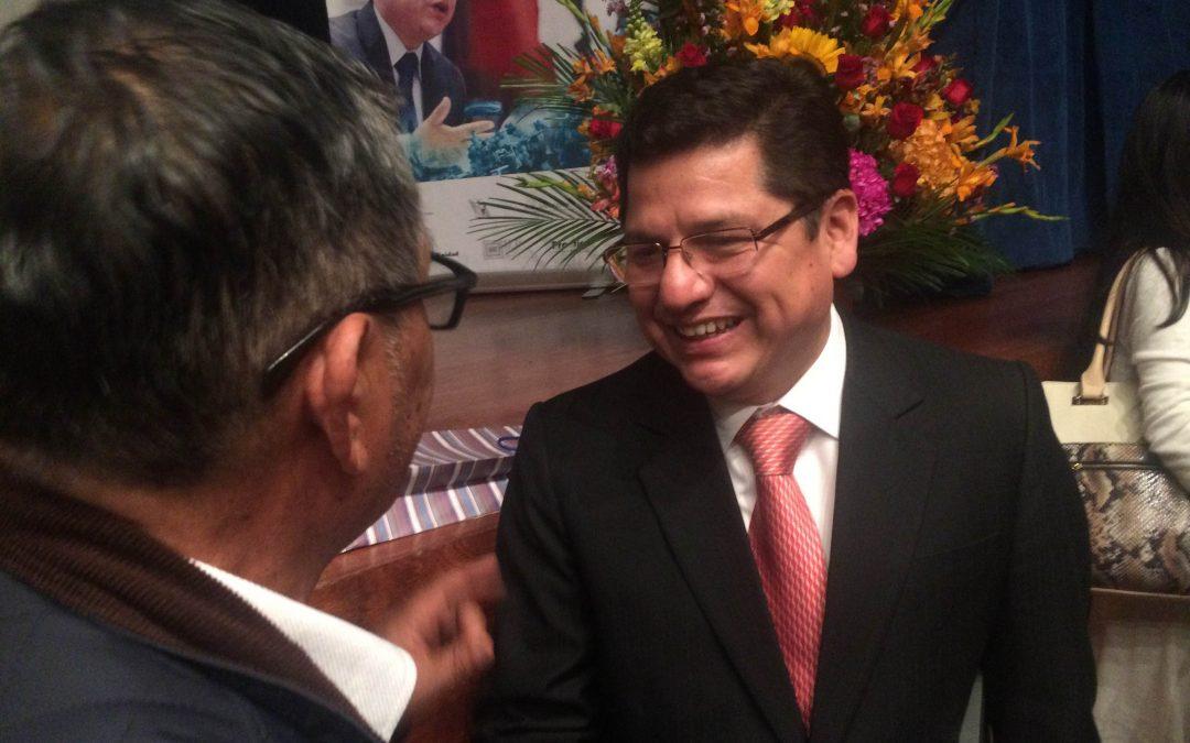 Eduardo Vega, la tranquilidad del deber cumplido