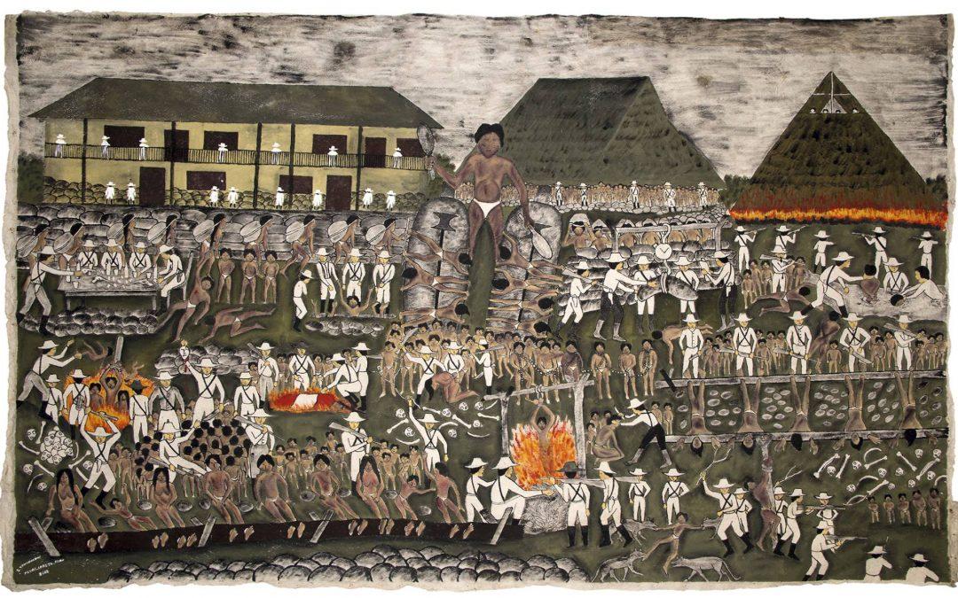 El arte que surgió del Amazonas