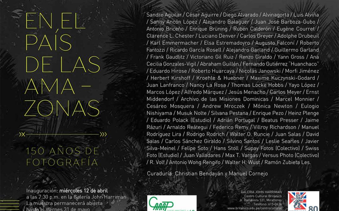 «En el país de las Amazonas», exposición con más de 80 fotógrafos se inaugura mañana en Lima