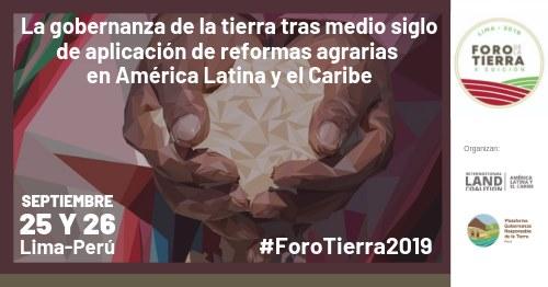 X Foro de la Tierra América Latina y el Caribe será en Lima