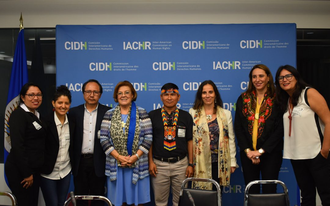 CIDH se compromete a dar seguimiento a problemática de contaminación a la salud en comunidades del Pastaza, Corrientes, Tigre y Marañón