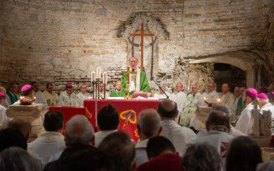 En Roma: Firman Pacto de las Catacumbas por la Casa Común