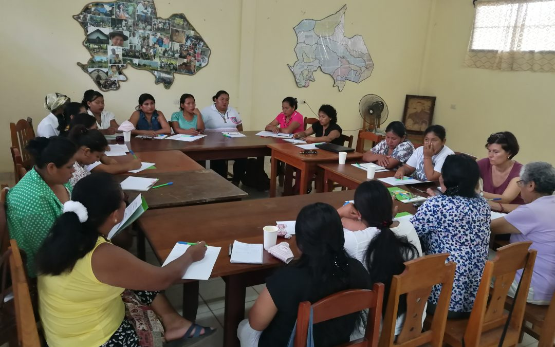 Mujeres indígenas en Puerto Maldonado: Tejiendo redes para compartir preocupaciones y hallar soluciones