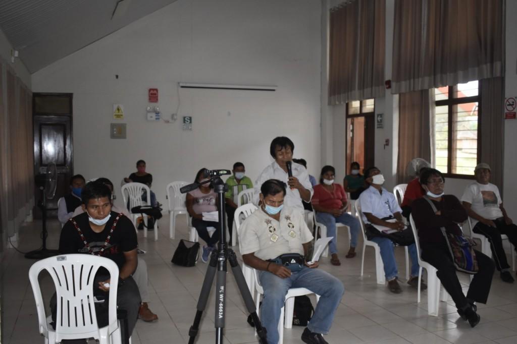 Reunión de directores del GTANW. Foto: Nación Wampís