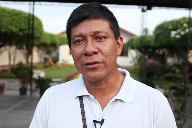 """Defensor ambiental José Manuyama sobre Sínodo de la Amazonía: """"La situación histórica marca que es momento de unirnos"""""""