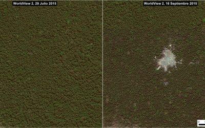 Así se daña la Amazonía en solo semanas