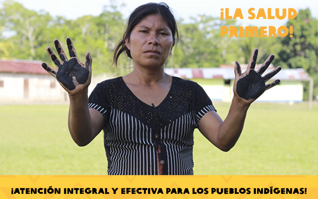 Líderes indígenas de la Amazonía expondrán ante la CIDH sobre contaminación en salud de población y territorios