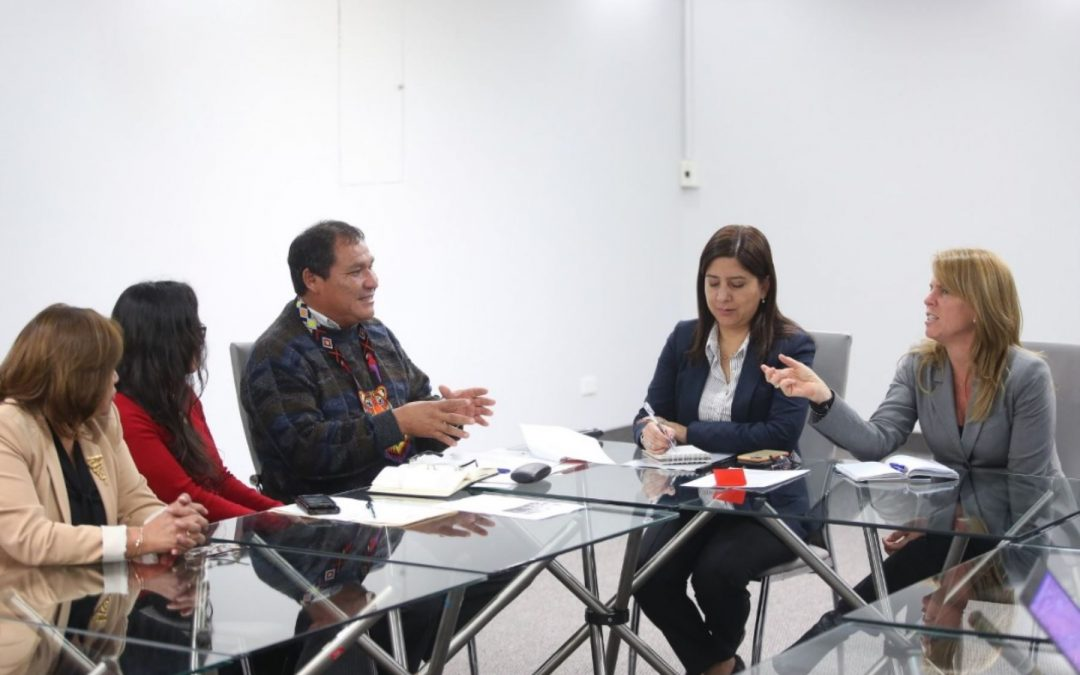 Midis: ministra Aljovín dialogó con líderes de comunidad Wampis
