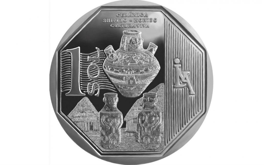 Moneda de un sol alusiva a cerámica shipibo-konibo es la mejor del mundo