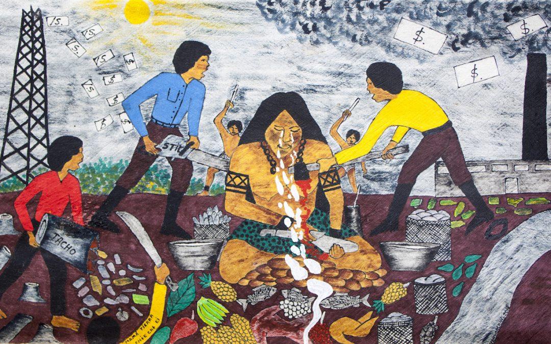 Radiografía de una pintura, el arte de Santiago Yahuarcani y su invocación a la Iglesia