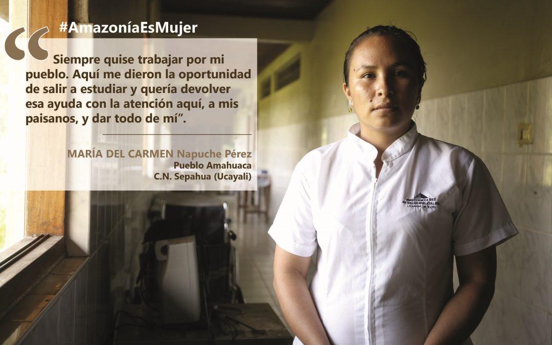 [PODCAST_#AmazoníaEsMujer] María, la niña que descubrió su vocación tras ver morir a su mamá