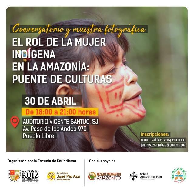El rol de la mujer indígena en la Amazonía: puente de culturas