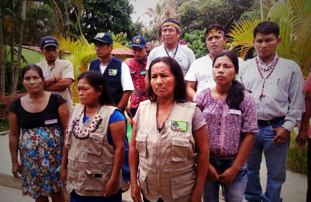 Desplante del ministerio de Salud a indígenas de las cuatro cuencas