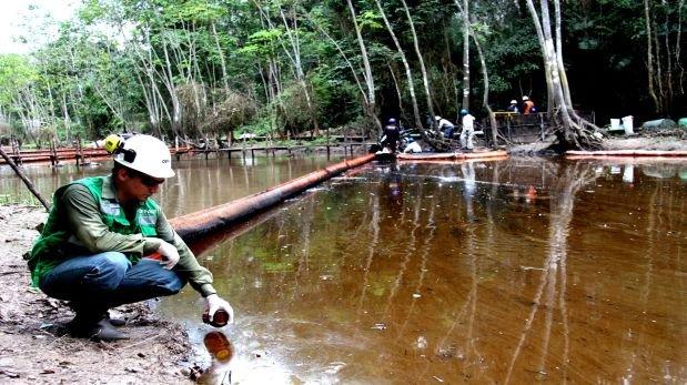 OEFA ordena a Petro-Perú remediar derrame en Cuninico