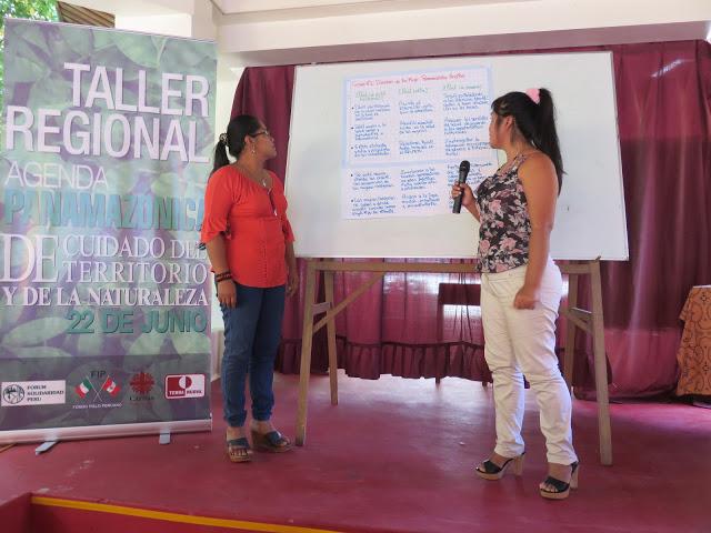 En Puerto Maldonado, debaten Agenda Panamazónica y preparan Pre-Foro Nacional Fospa