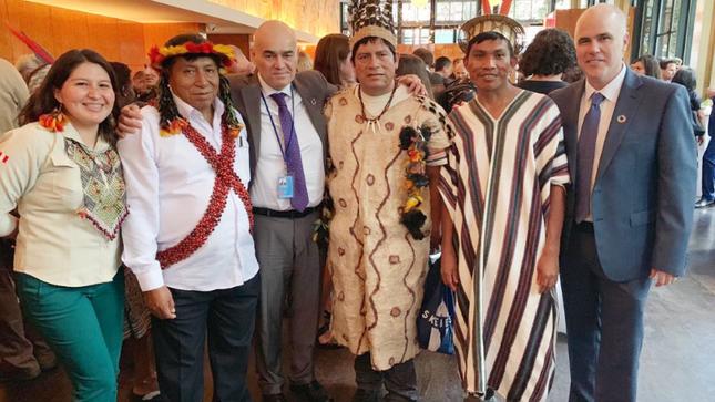 Premian en Nueva York a iniciativas de comunidades indígenas para  la conservación de territorios ancestrales y áreas naturales protegidas
