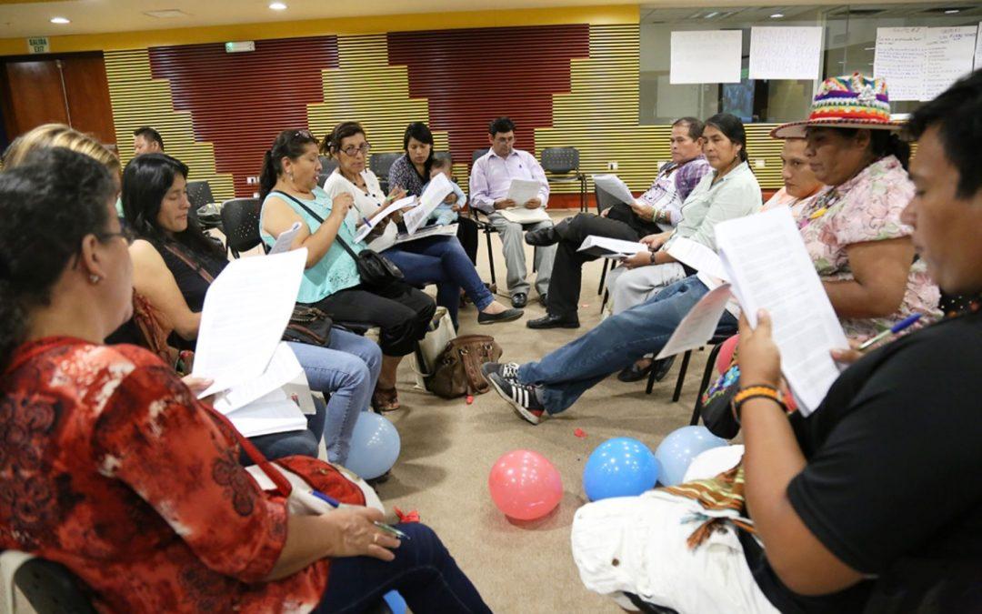 Crean comisión multisectorial para proponer política nacional de lenguas originarias