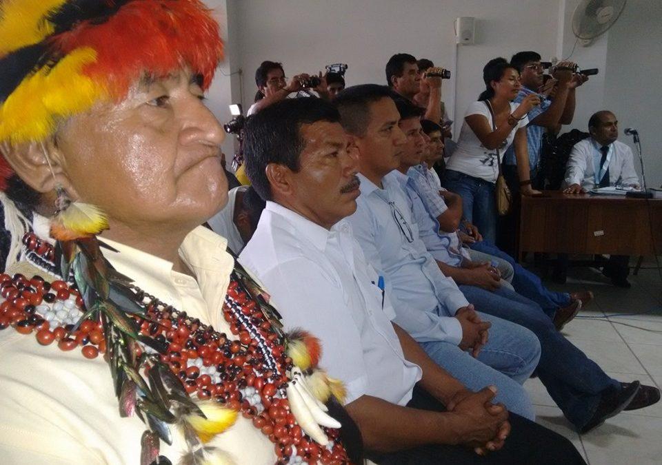 Regiones se movilizan a ocho años del Baguazo