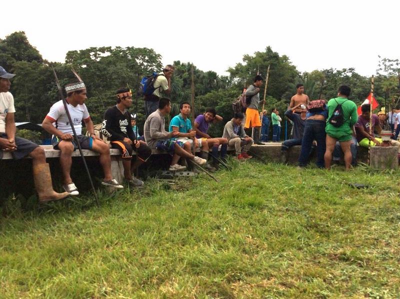Loreto: Comunidad San José de Saramuro aclara que no participa de protestas en Lote 8