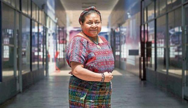 Rigoberta Menchú: «Lo más grave en la violencia a la mujer es la impunidad»