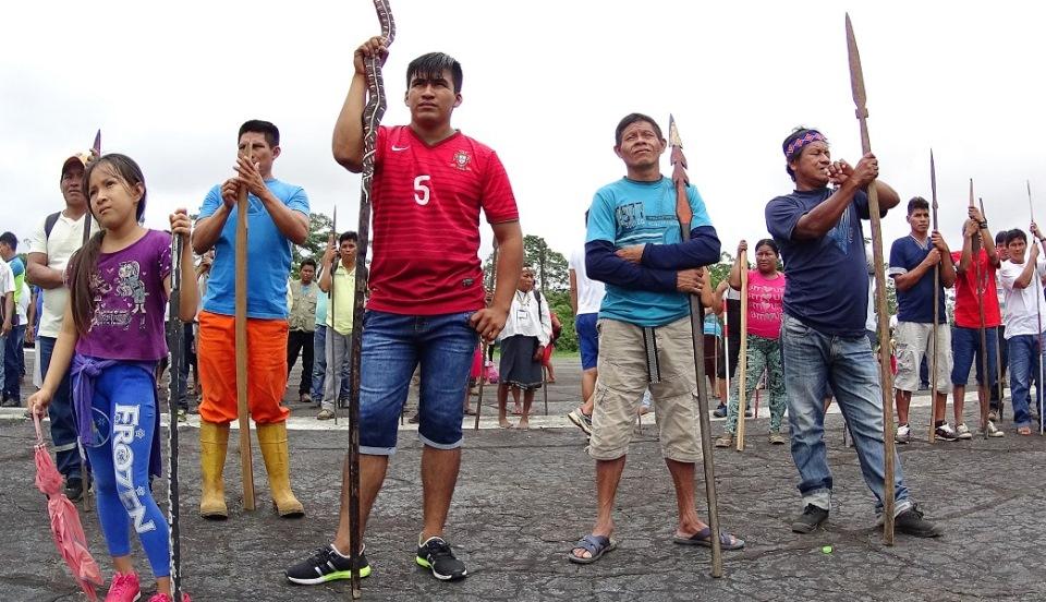 Una semana de paralización del Lote 192: Comunidades achuares, kichwas y quechuas no obtienen respuesta sobre consulta previa