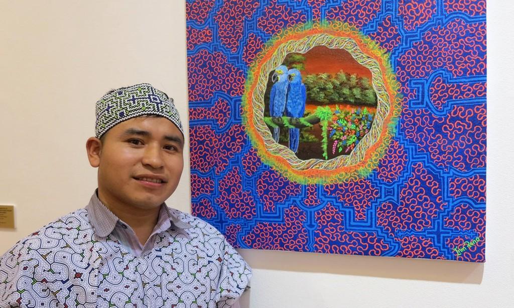 El poeta shipibo Inin Rono estará participando de este encuentro. Foto: CAAAP