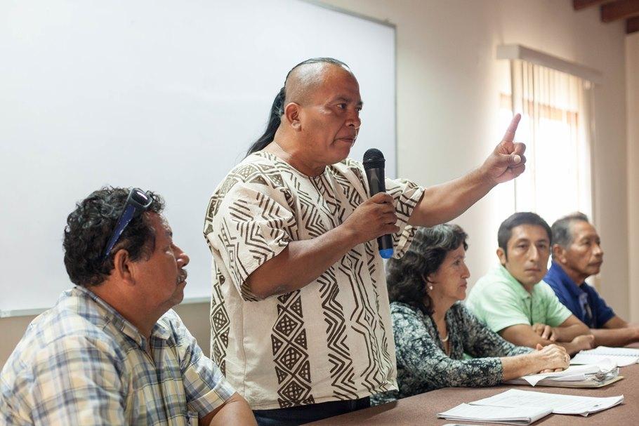 Detienen a Washington Bolívar, indígena que lidera batalla contra empresa de palma aceitera