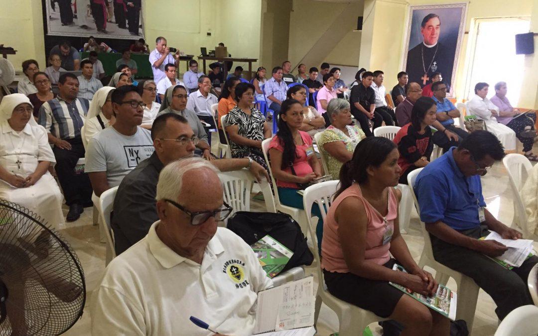 Religiosos y laicos del Vicariato de Yurimaguas suman esfuerzos para seguir al Papa en la construcción de una iglesia con rostro amazónico