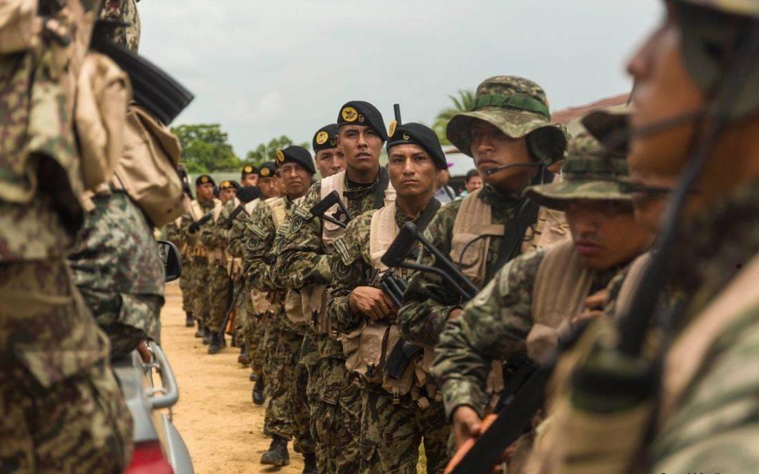 'Operación Mercurio': Instalan bases integradas por la PNP y las Fuerzas Armadas en La Pampa (Madre de Dios)