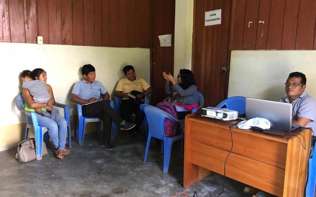 Comunidades nativas se preparan para recibir las brigadas de salud que atenderán a la población afectada por el derrame de Chiriaco en 2016